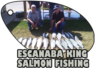 ESCANABA KING SALMON FISHING