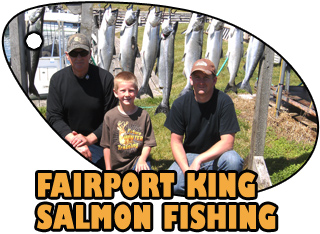 FAIRPORT KING SALMON FISHING , fairport trout fishing